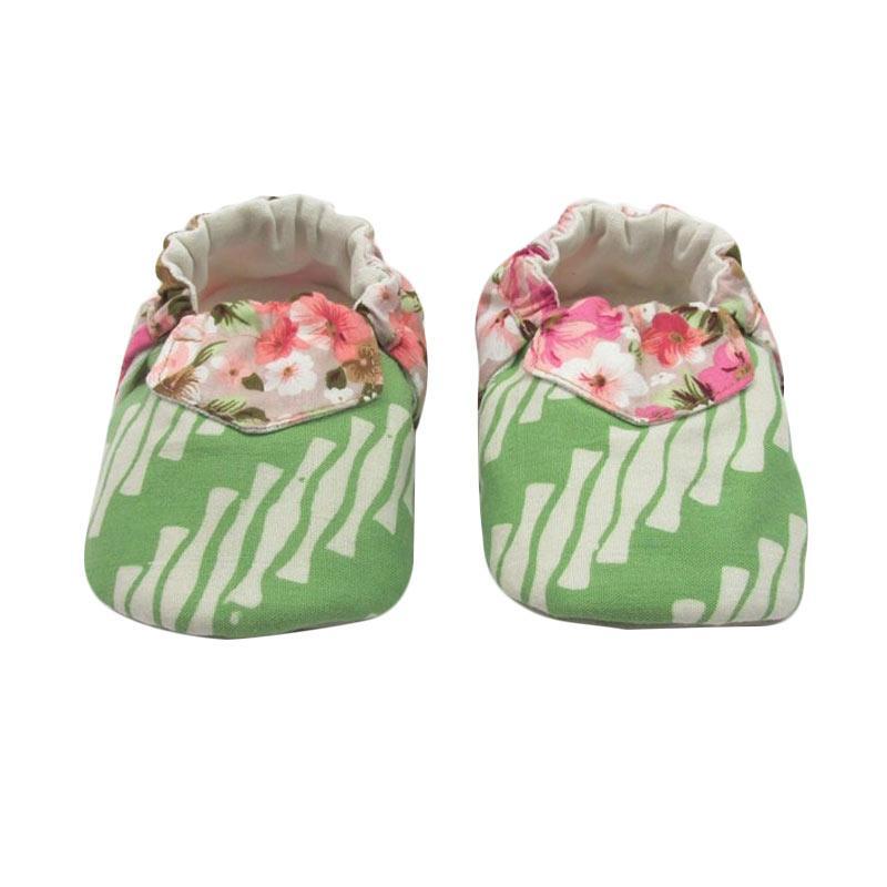 Sweet Batik Juno Shoes Ksf6-13 Sepatu Bayi - Green