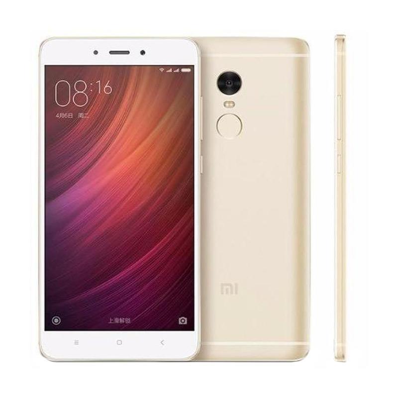 Xiaomi Redmi Note 4 Snapdragon Smartphone - Gold [64GB/4GB]