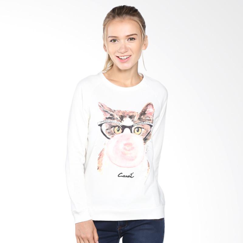Carvil 25.SWE.W10.OW/SWEET-W10 Sweater Wanita - Off