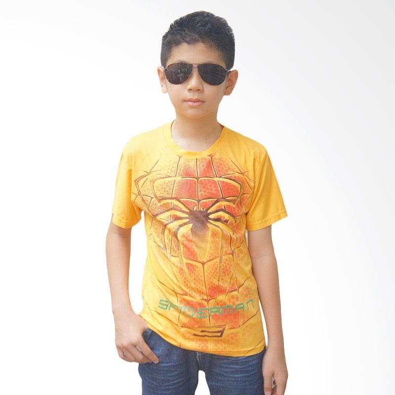Chloe Babyshop spiderman F694 T-shirt Anak Laki Laki - Yellow