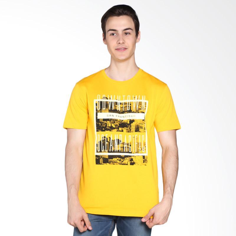 Ocean Pacific Young Mens Tshirt - Yellow 03MTY11880