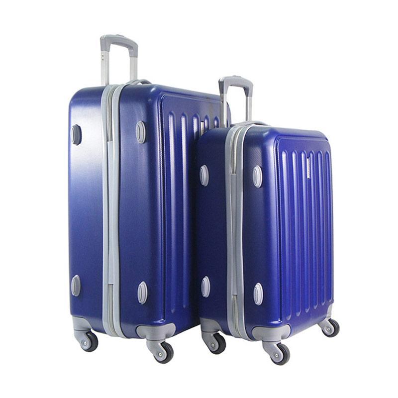 Polo Twin HD 1610 Troley Bag Set - Navy Blue [20 dan 24 Inch]