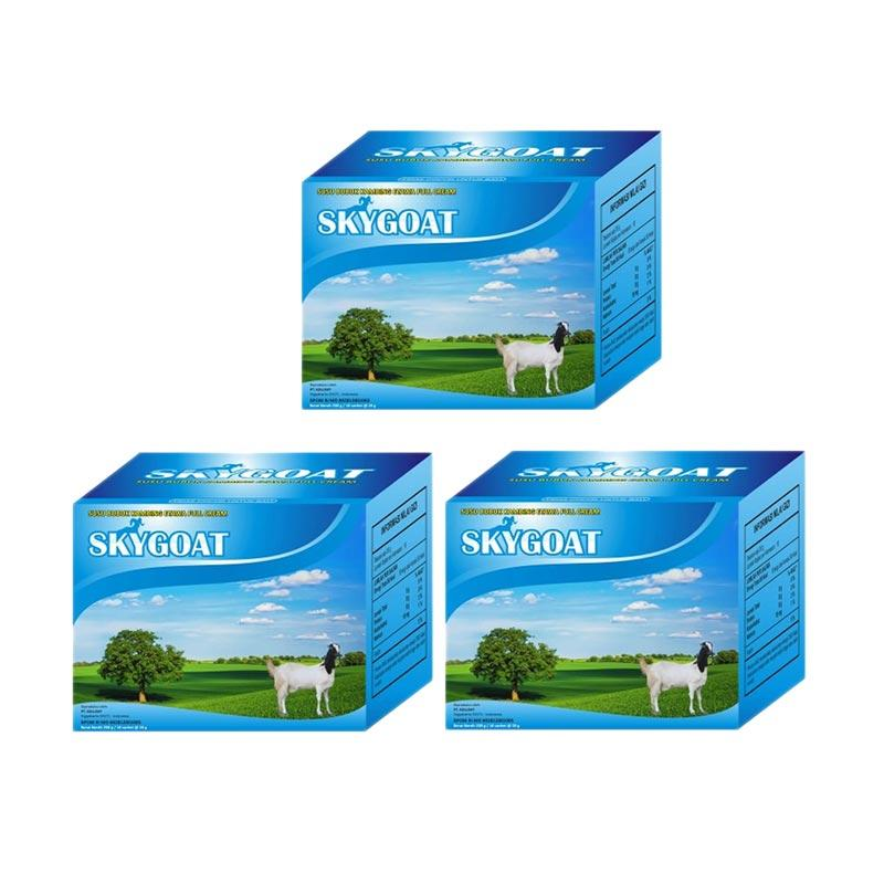 Sky Goat Susu Kambing Etawa Bubuk Full Cream Minuman Kesehatan [3 box]