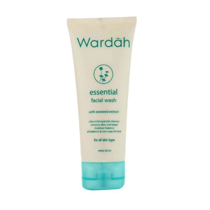 Jual Wardah Facial Wash 60ml Cek Harga Di Pricearea Com