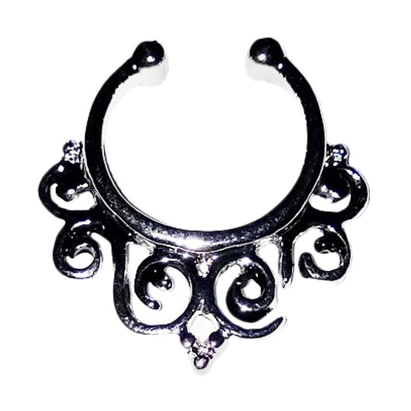 Harga Anne Fake septum piercing anting jepit hidung tanpa tindik Source · Kelebihan Kekurangan Anneui BP0042