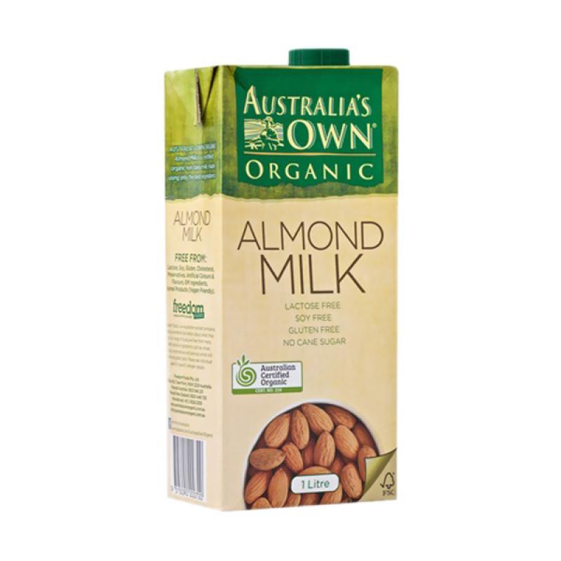Australia's Own Organic Almond Milk Gluten Free UHT Minuman [1 L]
