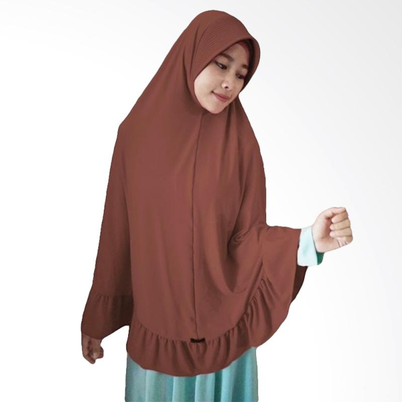 Milyarda Hijab Instant Bergo Pet Ihrom - Brown