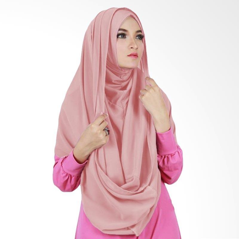 Milyarda Hijab Sirhood Kerudung - Dusty pink