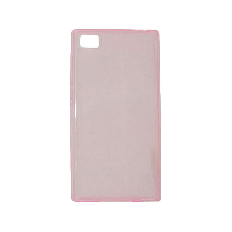 OEM Ultrathin Jelly Softcase Casing for Xiaomi M3 - Pink