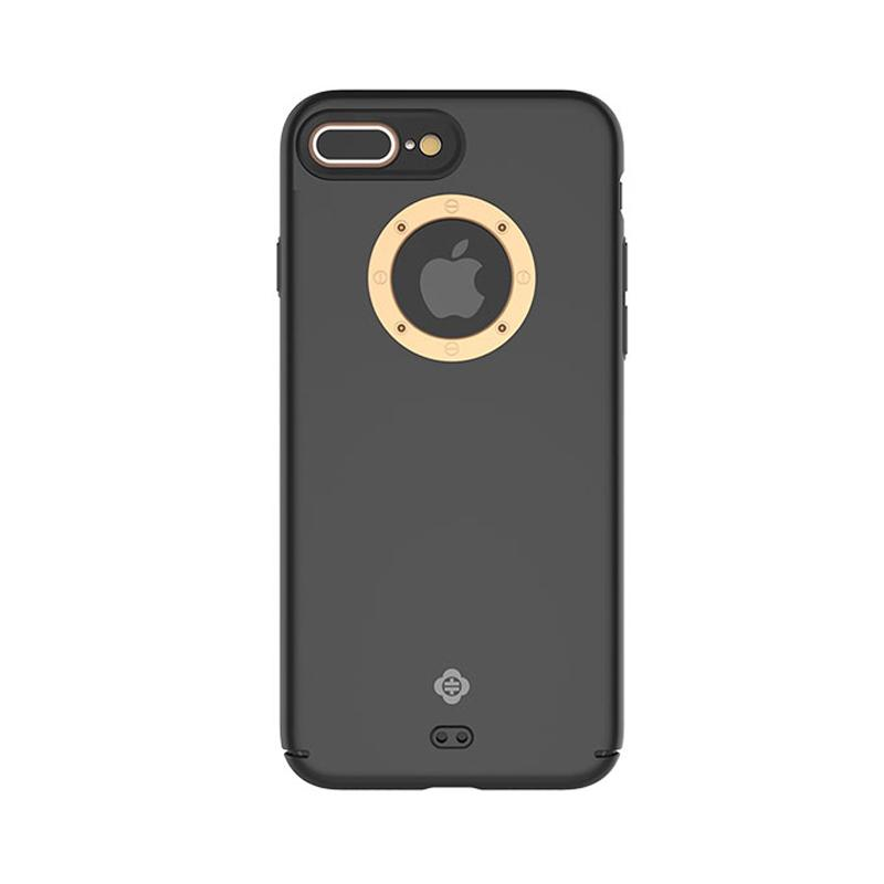 Totu Basis Series Casing for iPhone 7 Plus - Gold Black