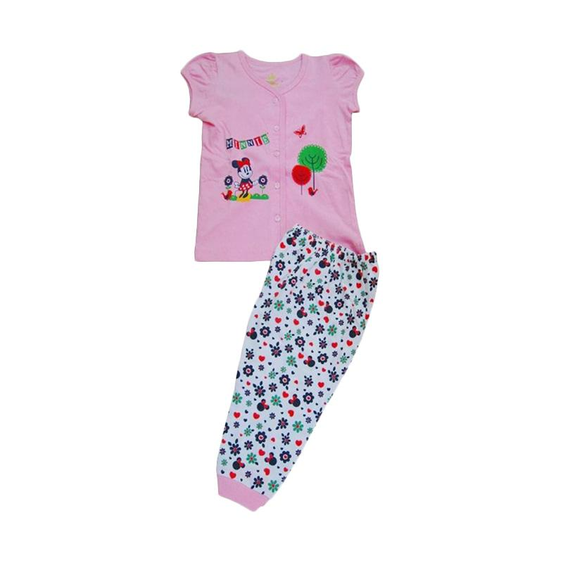 Disney Sleepwear Baby Motif Minnie Baju Tidur Anak 0-6m