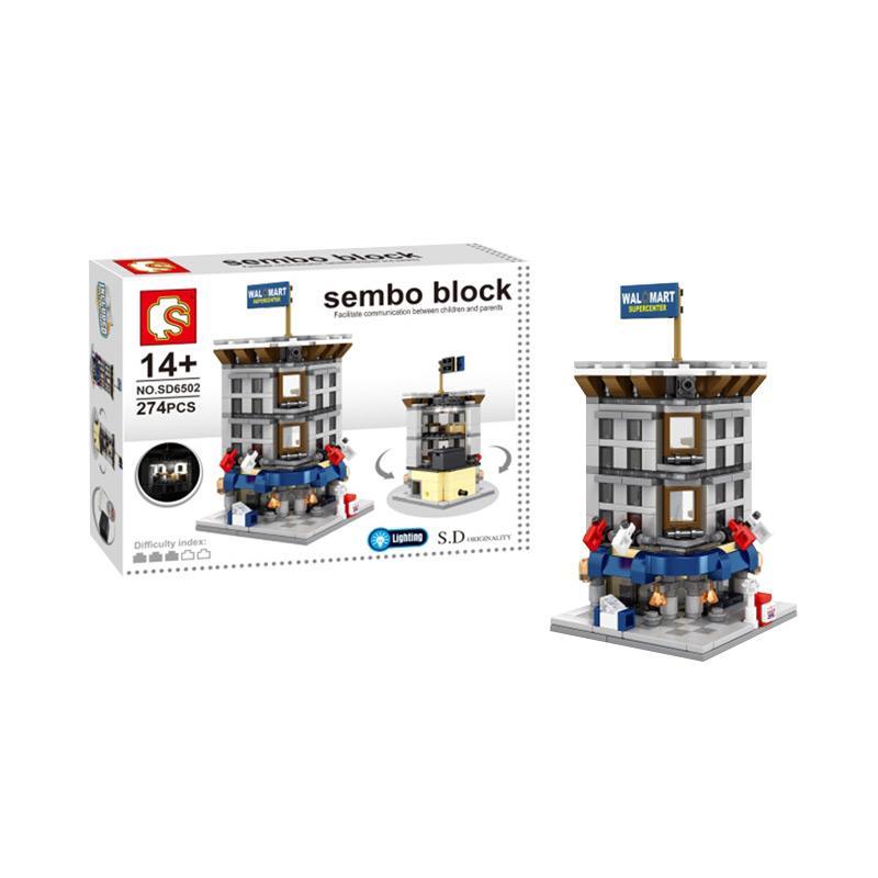 FUNBRICK Sembo SD6502 Wal Mart Mainan Blok and Puzzle