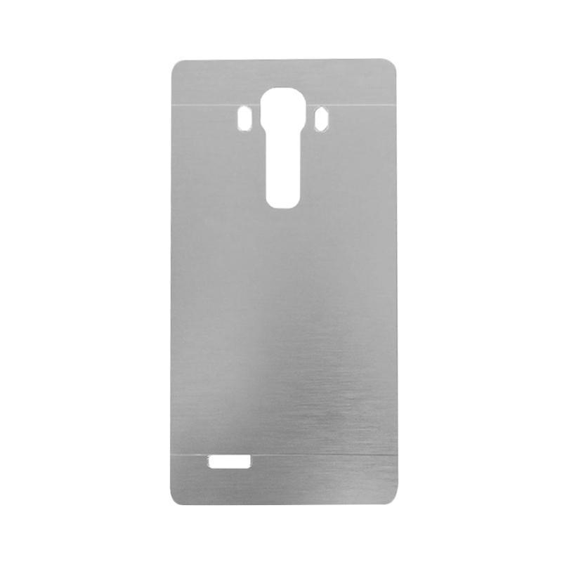 Motomo Metal Hardcase Backcase Casing for LG G4 - Silver