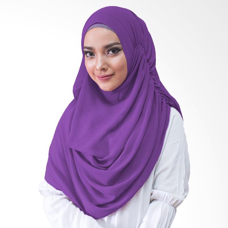 Milyarda Hijab Nurmala Kerudung Instan - Ungu