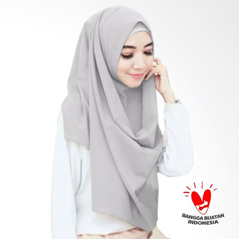 Milyarda Hijab Sella Pashmina Instant - Silver