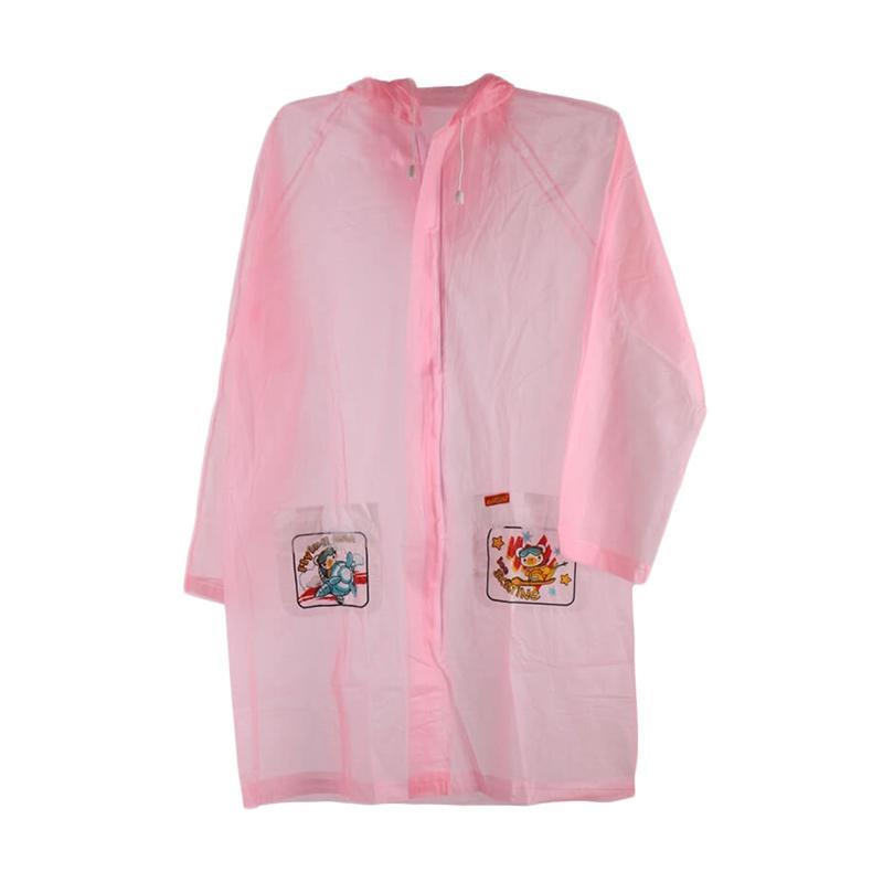 Wonderland Elmondo Terusan Jas Hujan Anak - Pink