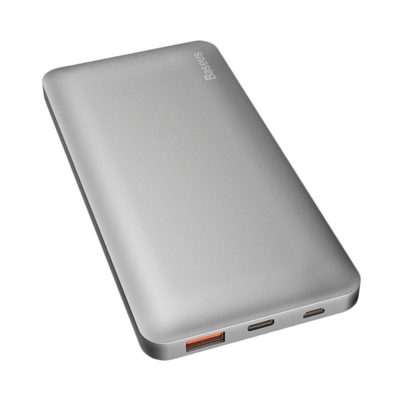 Baseus Galaxy Series QC3.0 Powerbank [10000 mAh/ T+M] - Sky Gray