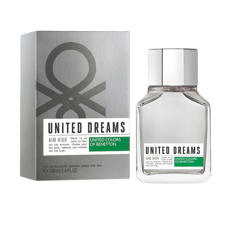 Benetton United Dreams Aim High EDT Parfum Pria [100 mL]