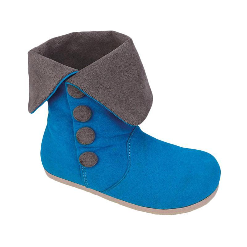 harga Catenzo Junior Tia CAS 018 Sepatu Boots Anak - Biru Blibli.com