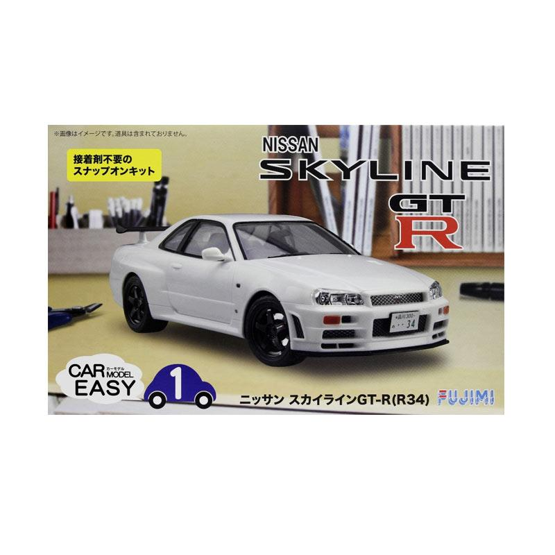harga Fujimi Nissan Skyline GT R Car Easy Model Model Kit [1:24] Blibli.com