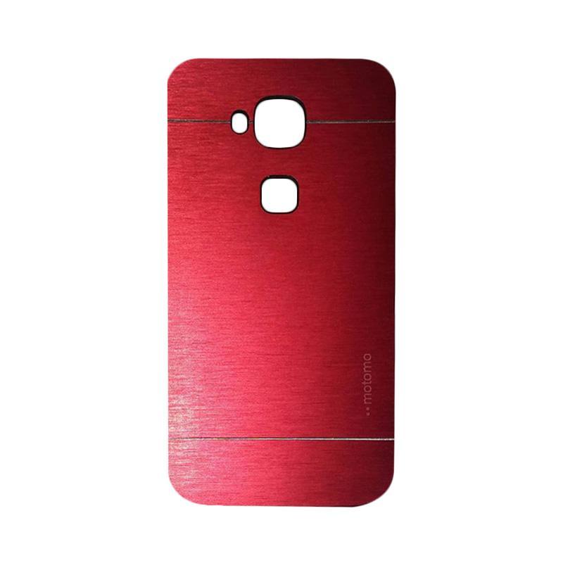 Motomo Metal Hardcase Backcase Casing for Huawei G8 - Red