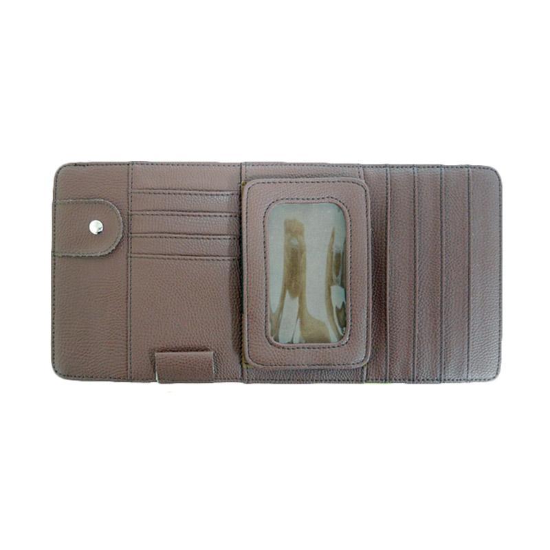 SIV CD, Pocket, Card Multi Organizer Sunvisor - Brown