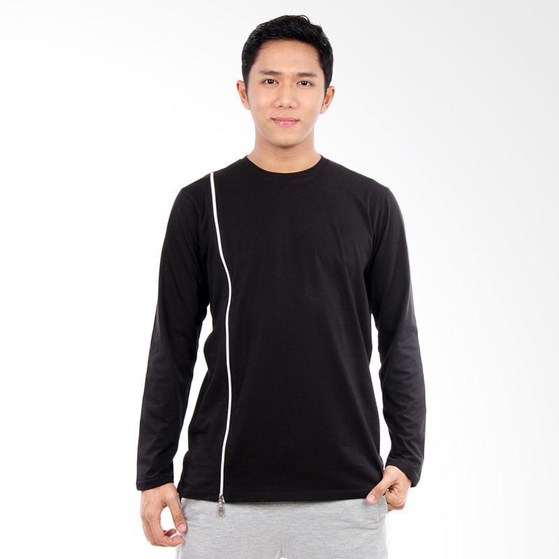Word.o T-shirt Lining Lengan Panjang Kaos Pria - Hitam Extra diskon 7% setiap hari Extra diskon 5% setiap hari Citibank – lebih hemat 10%