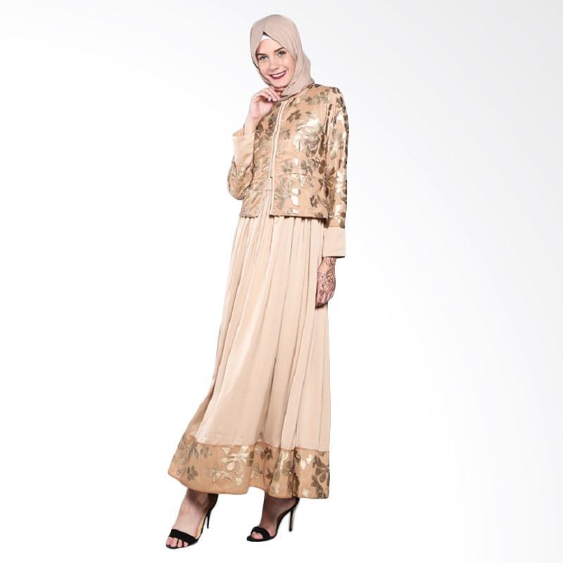 harga Fatimah Dress - M - Gold Satin Rompi Brukat Kulit Blibli.com