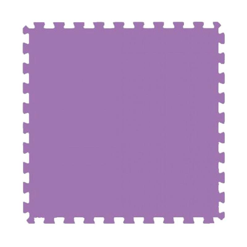 Evamats Puzzle Polos Alas Lantai - Violet [4 Pcs/60 x 60]