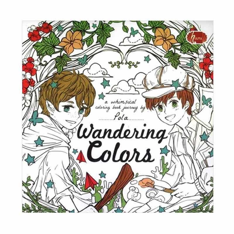 Haru Wandering Colors Coloring Book By Pola Buku Mewarnai
