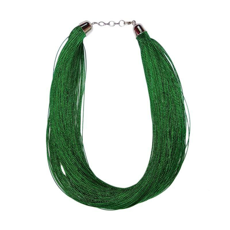 Tata Bali Shop 009 Glitter Kalung Fashion Wanita - Green