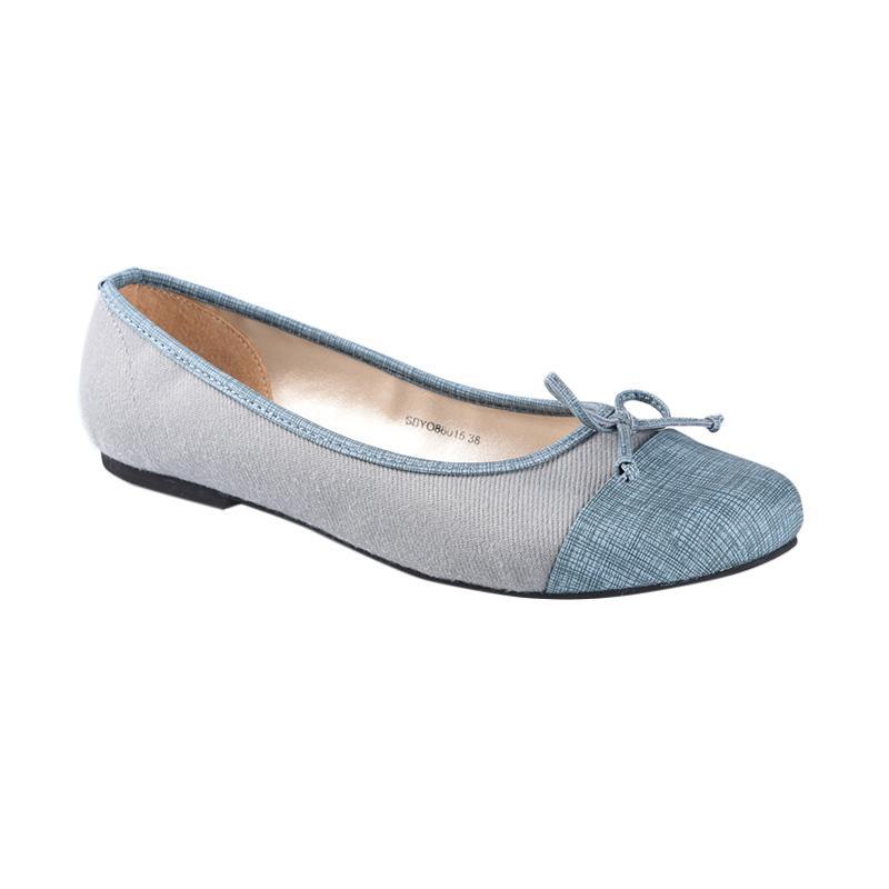 Jual Yongki Komaladi Sbyo 86015 Sepatu Wanita Biru Online Juli