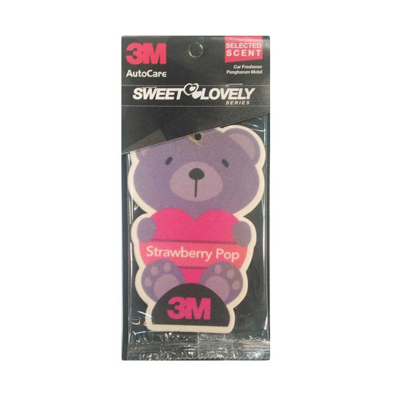 3M Car Freshener Strawberry Pop Pengharum Ruangan Mobil
