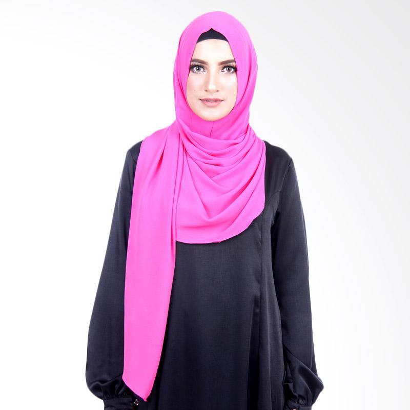 Cantik Kerudung Felicia Bubble Hijab - Hot Pink