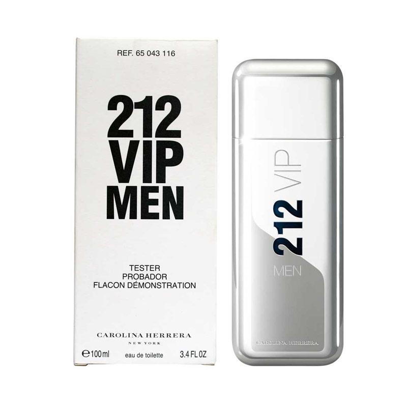 harga Carolina Herrera 212 VIP For EDT Parfum Pria [100 mL/Tester] Blibli.com