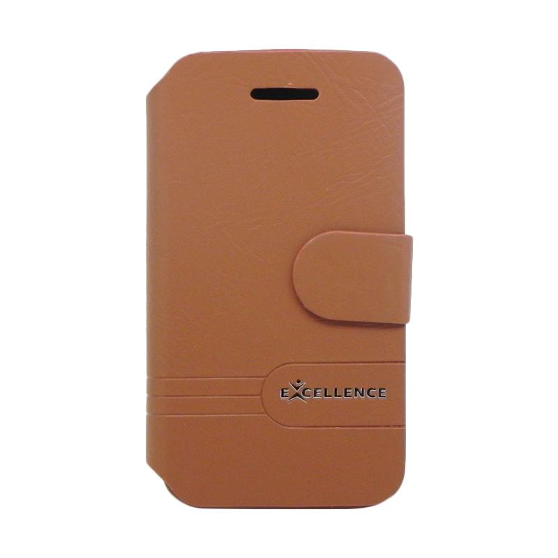 Excellence Dragonte Flip Casing for iPhone 4 - Brown