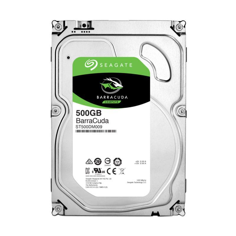harga Seagate Barracuda Hard Disk Internal PC Desktop [500 GB/3.5 Inch] Blibli.com