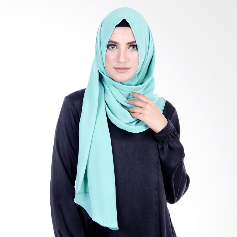 Cantik Kerudung Felicia Bubble Hijab - Greenish