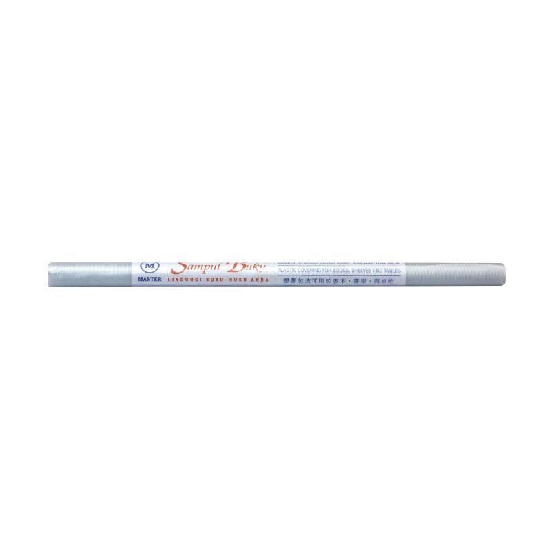Master Plastik Mika Emboss Roll Sampul Buku [34 x 300 cm]