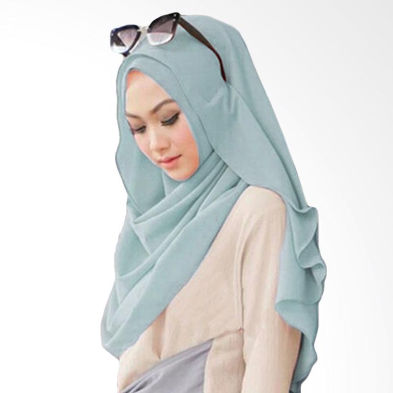 Milyarda Hijab Pashmina Instant Belle - Blue sky