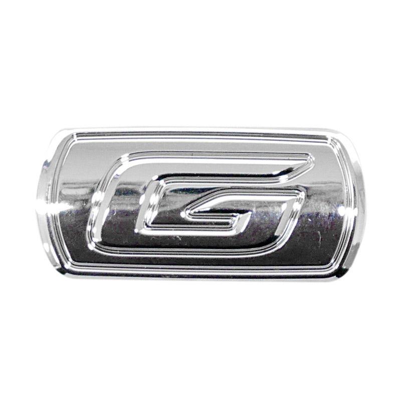 SIV EMB-G102 Logo G Emblem Mobil for Toyota Avanza 2016 - Silver