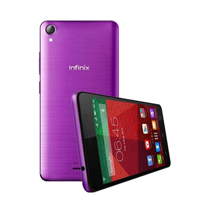 Ultrathin Casing for Infinix Hot Note - Purple Clear