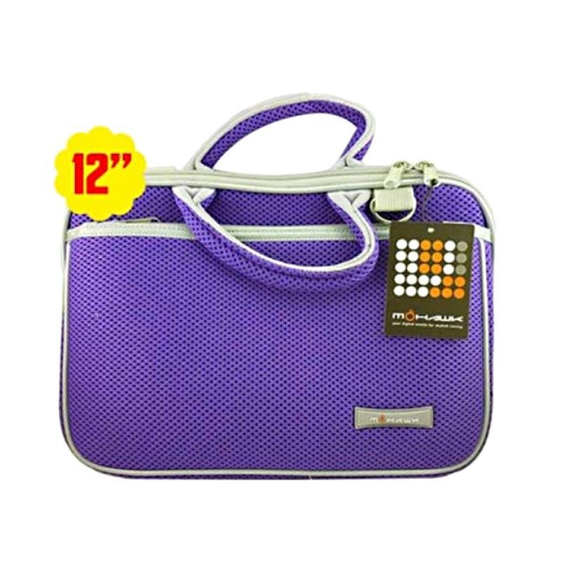 Mohawk 3008 Notebook Softcase Tas Laptop - Purple [12 Inch]
