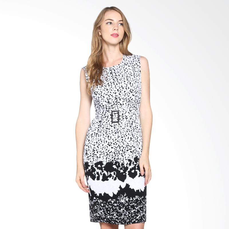 PS Career PC505HW50424 Sleeveless Dress - White