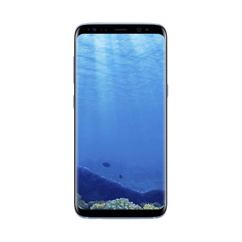 MURAH Samsung Galaxy S8 Dual Smartphone - Coral Blue [64 GB/4 GB]