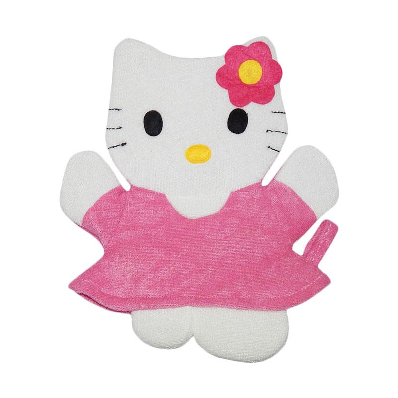 Wonderland Washlap Karakter Hello Kitty - Pink