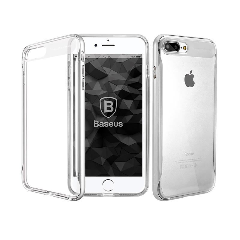 Baseus Fusion Series Casing for iPhone 7 Plus - Silver