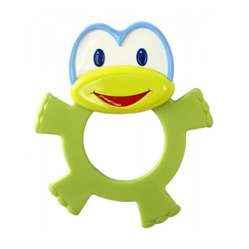 Brightstarts Dancing Teether Friends Frog Mainan Bayi