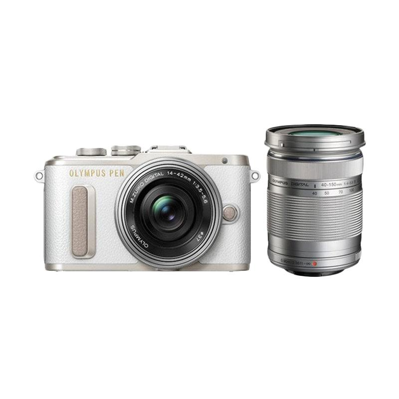 Olympus E-PL8 14-42mm EZ Digital Camera - White Silver