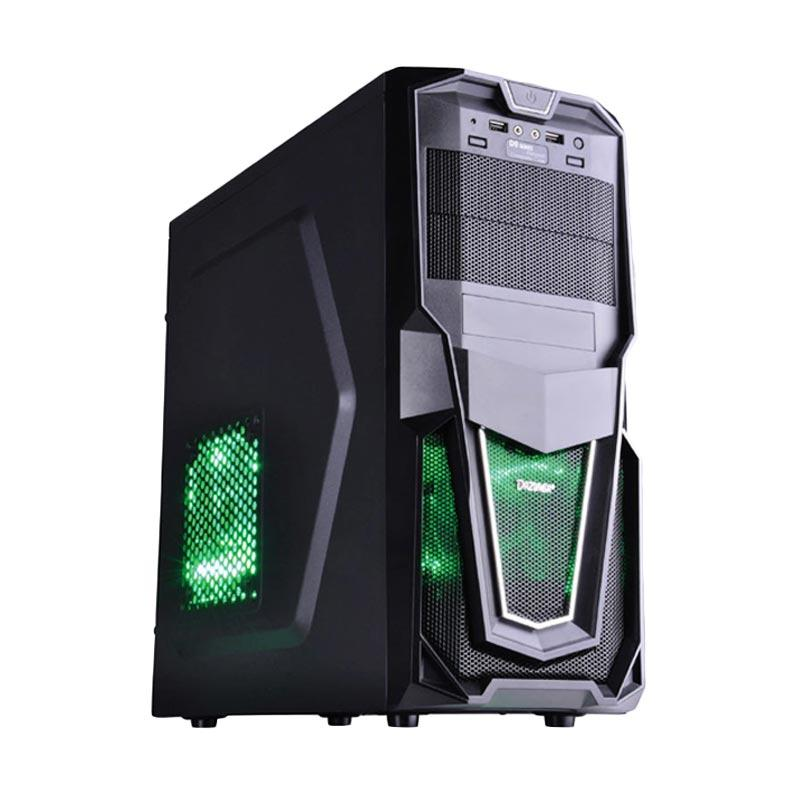 Biostar New PC Rakitan [Intel Core I3 2100 3.1 Ghz/ Harddisk 1TB]